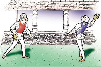 テニスの原型